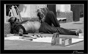 reto 48 pobreza, indigentes en nuestras calles Juan Cruceira Arteaga